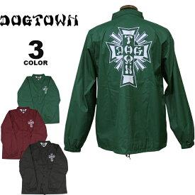 ドッグタウン コーチジャケット DOGTOWN CROSS LOGO NYLON COACH JACKET ナイロン メンズ レディース 全3色 S-XL【公式】
