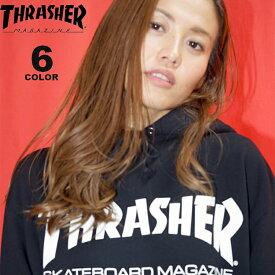 【公式】スラッシャー THRASHER トレーナー パーカー MAG LOGO プリント プルオーバーパーカ メンズ レディース 裏毛スウェット 全6色 S-XL
