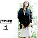 スラッシャー THRASHER 直営店限定 コーチジャケット MAG T/C COACH JACKET メンズ レディース ブラック 黒 S-XL【公…