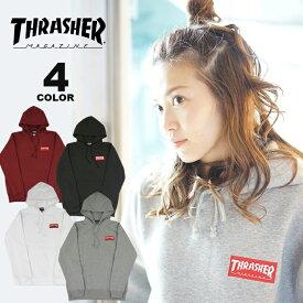 【公式】スラッシャー パーカー THRASHER HOMETOWN RED HOODIE SWEAT PARKA プルオーバー パーカ スエット メンズ レディース 裏起毛スウェット 全4色 S-XL