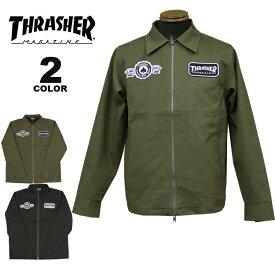 【公式】スラッシャー ジャケット THRASHER SINCE 1981 JACKET メンズ レディース 全2色 S-XL