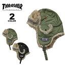 【公式】スラッシャー パイロットキャップ THRASHER KIDS PILOT CAP 帽子 ジュニア ユース キッズ 子供 小さいサイズ …