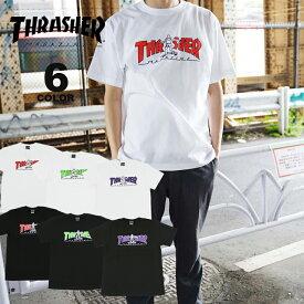【公式】スラッシャー Tシャツ THRASHER GONZ HOMETOWN S/S T-SHIRTS プリントTEE マークゴンザレス ゴンズ メンズ レディース 全6色 S-XL