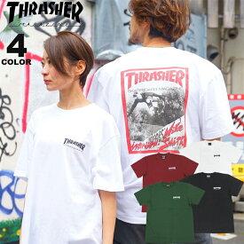 スラッシャー Tシャツ THRASHER JAN 82 S/S T-SHIRTS プリントTEE バックプリント メンズ レディース 全4色 S-XL【公式】