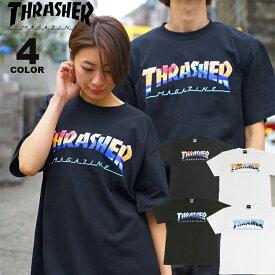 スラッシャー Tシャツ THRASHER FUJI S/S T-SHIRTS プリントTEE メンズ レディース 全4色 S-XL【公式】