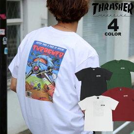 スラッシャー Tシャツ THRASHER COMIC #8 S/S T-SHIRTS プリントTEE バックプリント メンズ レディース 全4色 S-XL【公式】