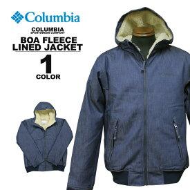 コロンビア スポーツウェア Columbia LOMA VISTA BOA HOODIE JACKET ロマビスタ ボア フーディジャケット デニム メンズ