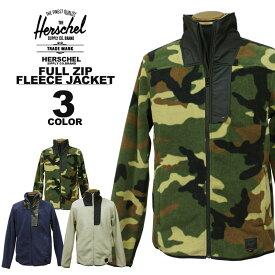 ハーシェル サプライ Herschel SUPPLY CO. ZIP UP FLEECE JACKET フリースジャケット メンズ レディース ブラック 黒 ネイビー カモ