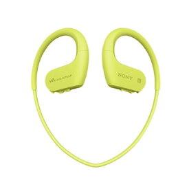 オーディオプレーヤー ウォークマン ソニー SONY NW-WS623 ライムグリーン Wシリーズ 内蔵メモリー4GB Bluetooth ヘッドホン スポーツタイプ 新品 送料無料