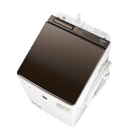 【標準設置込・送料無料】洗濯機 シャープ SHARP ES-PW10D ブラウン系 洗濯・脱水容量10kg 乾燥容量5kg AI 超音波ウォッシャー スマホアプリ 温風プラス洗浄 ほぐし運転