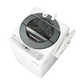 【標準設置込・送料無料】洗濯機 シャープ SHARP ES-GW11D シルバー系 洗濯・脱水容量11kg COCORO WASH AI 大容量 パワフルシャワー 超音波ウォッシャー