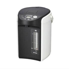VE電気ポット 電気まほうびん 電気ポット タイガー TIGER PIQ-A220W ホワイト 2.2L エネコース 高真空2重瓶 ステンレス製 省エネ 電動給湯式 クエン酸洗浄機能有