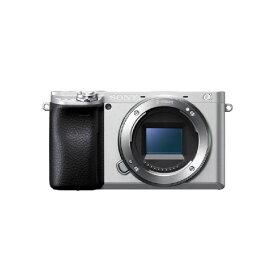 デジタル一眼カメラ ダブルズームレンズキット ソニー ILCE-6400Y シルバー α6400 リアルタイム瞳AF リアルタイムトラッキング 高密度AF追従テクノロジー 高速連写
