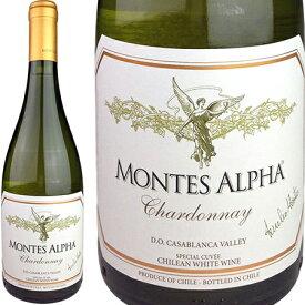 Montes Alpha Chardonnay [現行VT] / モンテス アルファ シャルドネ [CL][WA91][白][R]