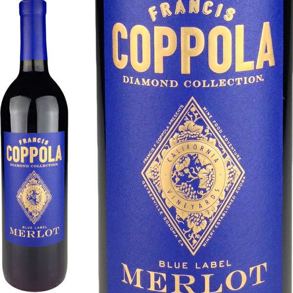 Francis Coppola Diamond Collection Merlot California [現行VT] / フランシス・コッポラ ダイヤモンド・コレクション メルロー カリフォルニア [US][赤][L]