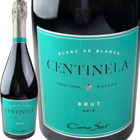 Cono Sur Centinela Brut Blanc de Blanc [2015] / コノスル センティネラ ブリュット ブラン・ド・ブラン [CL][白泡]