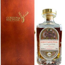 Gordon & MacPhail Single Cask Celtic Label Crystal Decanter Grenlivet 39 yo [1979] / ゴードン & マクファイル シングル カスク ケルティックラベル クリスタルデキャンタ グレンリヴェット 39年 [SW]