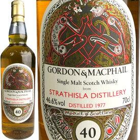 Gordon & MacPhail Celtic Label Single Cask for JIS Strathisla 40 yo [1977] / ゴードン&マクファイル ケルティックラベル シングルカスク FOR JIS ストラスアイラ 40年 [SW]