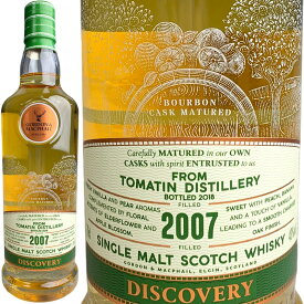 Gordon & MacPhail Discovery Tomatin Bourbon Cask [2007] / ゴードン&マクファイル ディスカバリー バーボン トマーティン [SW]