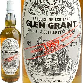 Gordon & MacPhail Glen Grant Single Cask Bottling for JIS [1989] / ゴードン&マクファイル グレングラント シングルカスク FOR JIS [SW]
