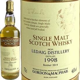 Gordon & MacPhail Connoisseurs Ledaig [1998] / ゴードン&マクファイル コニサーズチョイス レダイグ [SW]