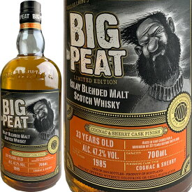 Douglas Laing Blended Malt Big Peat's 33 yo Cognac & Sherry Cask [1985] / ダグラスレイン ブレンデッドモルト ビッグ ピート 33年 リミテッドエディション コニャック & シェリーフィニッシュ [SW]