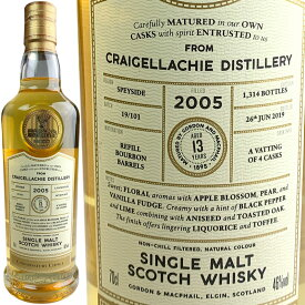 Gordon & MacPhail Connoisseurs Choice Craigellachie 13 yo [2005] / ゴードン & マクファイル コニサーズチョイス クレイゲラヒ 13年 [SW]