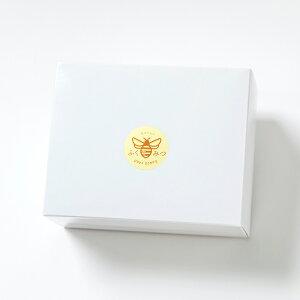 [ギフト箱D]●国産はちみつ ギフト箱 蜂蜜 純粋 ラッピング ミニギフト 内祝●