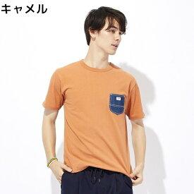 Lee ポケット付き半袖Tシャツ ユニセックスRight-on,ライトオン,LT2366,Lee,リー