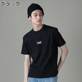 Lee 刺しゅうボックスロゴTシャツ メンズRight-on,ライトオン,LT4031,Lee,リー