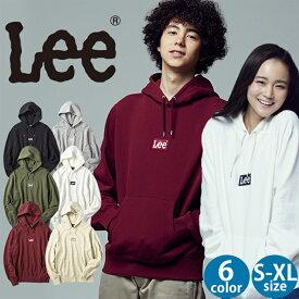 Lee 刺繍ボックスロゴパーカー ユニセックスRight-on,ライトオン,LT2787,Lee,リー