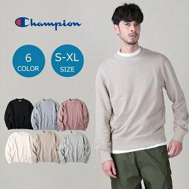 Champion (ポイント20倍!) 無地スウェットクルーネックトレーナー メンズRight-on,ライトオン,C8-S003R,Champion,チャンピオン
