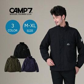 CAMP7 スタンドカラージャケット メンズ 登山 アウトドア アウトドアファッション 山登り キャンプ あったか おしゃれ ペア カップル ペアルック ブルゾンRight-on,ライトオン,CP-4216008,CAMP7,キャンプ7