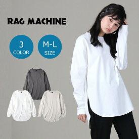 RAG MACHINE ラウンドビッグシルエットロンT ウィメンズRight-on,ライトオン,RM42240013,RAG MACHINE,ラグマシーン
