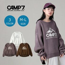 CAMP7 マウンテンロゴニット ウィメンズRight-on,ライトオン,CP42250001,CAMP7,キャンプ7