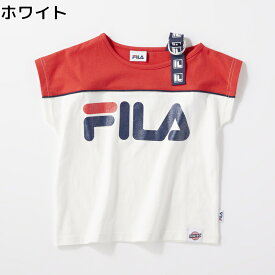 FILA 【FILA×TEGTEG cheered by Girls2】 肩テープTシャツ(ジュニアサイズ155cm) キッズRight-on,ライトオン,764507,FILA,フィラ