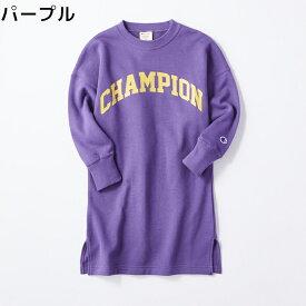 Champion ロゴプリントワンピース キッズ 全2色 100-140Right-on,ライトオン,FCS6367,Champion,チャンピオン