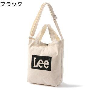Lee ボックスロゴ2wayショルダートートバッグRight-on,ライトオン,0427035BK,Lee,リー