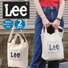 Lee カラートートバッグRight-on,ライトオン,0427010NB,Lee,リー,子供,子ども,男の子,女の子,かばん,ショルダー,2WAY,レディース,メンズ,ユニセックス,キャンバストート,ボックスロゴ,ネイビー,シンプル,使いやすい,普段使い,カジュアル