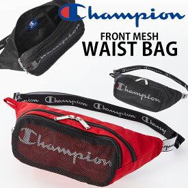 Champion ウエストバッグ キッズRight-on,ライトオン,チャンピオン,57421,かばん,子供,男の子,女の子,アウトドア,カジュアル,おしゃれ,かっこいい,ウエストポーチ,ロゴバッグ,メッシュ