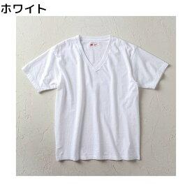 HANES 【WEB限定】ジャパンフィットシャツVネック メンズRight-on,ライトオン,H5115-WH-EC,HANES,ヘインズ