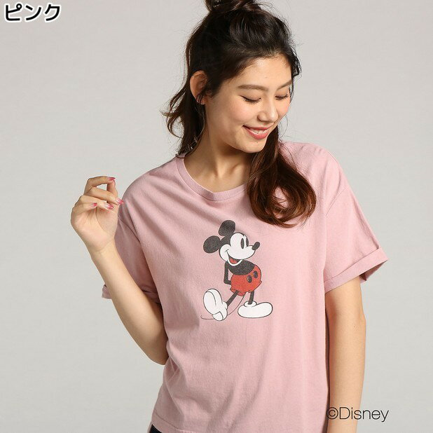 (ディズニー)DISNEY ディズニープリントTシャツ ウィメンズRight-on,ライトオン,DN39240102,DISNEY,ディズニー,