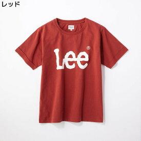 (リー)Lee ロゴプリント入りクルーネックTシャツ ウィメンズRight-on,ライトオン,LB9578,Lee,リー,レディース 半袖 春夏 ビッグシルエット M L