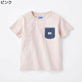 (リー)Lee ポケット付きTシャツ キッズRight-on,ライトオン,9184387,リー,Lee,半袖 春夏 子供 男の子 女の子 100cm 110cm 120cm 130cm 140cm
