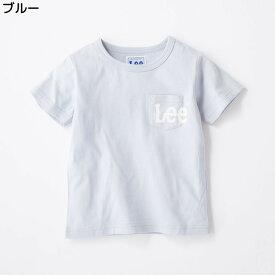 (リー)Lee 胸ロゴプリントTシャツ キッズRight-on,ライトオン,9184388,リー,Lee,胸ポケット 半袖 春夏 子供 男の子 女の子 100cm 110cm 120cm 130cm 140cm