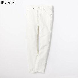 (リー)Lee 【WEB限定】スキニーパンツ メンズ※Right-on,ライトオン,LM1211-8-17FWBN,ボトム ジーンズ ジーパン タイト 細い ストレッチ入り 伸びる はきやすい 白 XS S M 日本製