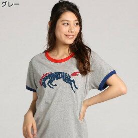 Wrangler 【WEB限定】ロゴTシャツ ウィメンズRight-on,ライトオン,WL1807-02-EC,ラングラー,Wrangler,