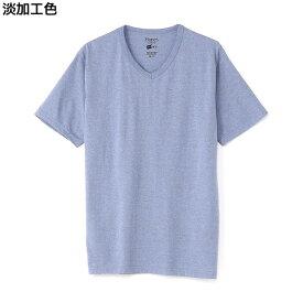 HANES VネックTシャツ メンズRight-on,ライトオン,HM1-P102,ヘインズ,HANES,半袖 20色 無地 春夏 秋冬 S M L XL