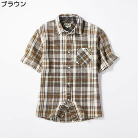 ワッフルチェックシャツ メンズRight-on,ライトオン,9743-100R,メンズ,ワッフル,チェック,シャツ,レッド,グリーン,ホワイト,ブラウン,柄,M,L,XL,
