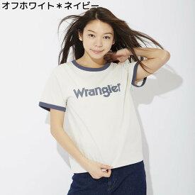 Wrangler リンガーTシャツ ウィメンズRight-on,ライトオン,WT5093,ラングラー,Wrangler,